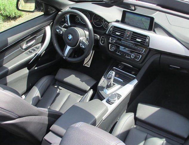 BMW Cabrio Cockpit